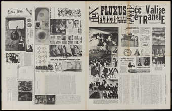 Black print on white newsprint. Published March, 1964.  See 90.180.