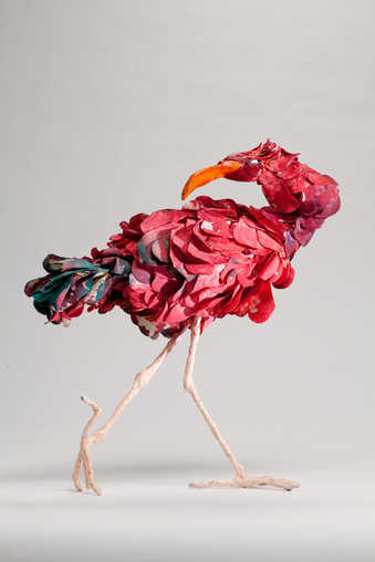 A bird sculpture created in a variant edition of 18 sold by Walker Art Center in support of...