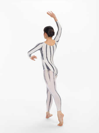 COSTUMES: Hand painted leotards, hand painted tights, hand painted cotton jacketFIRST...