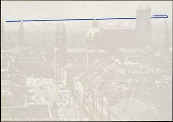 "Printed on reverse UL corner:  ""originalgrafik • serie 4:  münchen / nr. 3 joseph beuys /..."