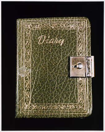 Photograph of Roberta&#x27;s diary.