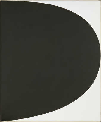 A black curve extends from the left side of the canvas covering almost all of the canvas.  The TR...