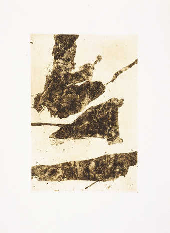 An open bite etching from one zinc plate.  From a series of eight etchings that were to be...