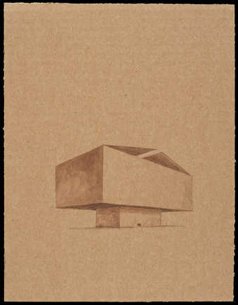 Drawings of geometric structures.