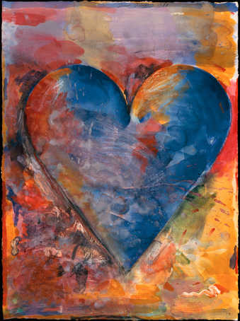 jim dine hearts