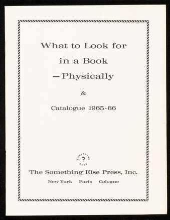 Catalogue and essay by Higgins.