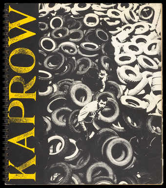 An exhibition catalog from the Pasadena Art Museum, spiral bound, cardboard covers. 1200 copies.