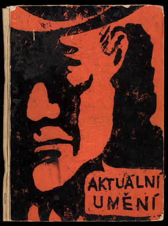2nd issue of Aktualni umeni, publication of the Aktual group, Prague.