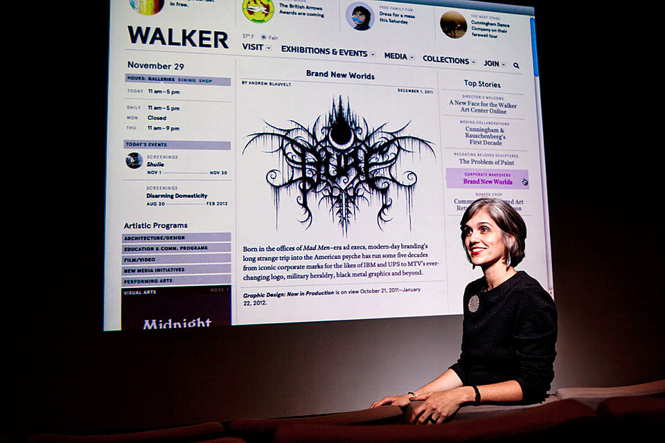 Olga Viso, executive director at the Walker Art Center